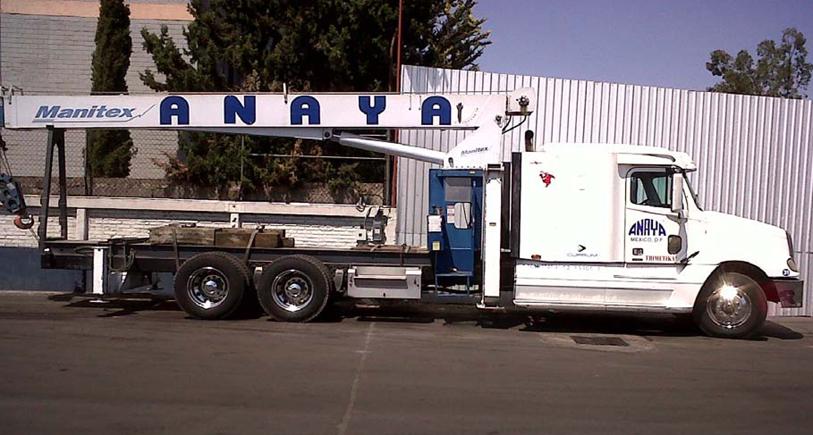 Freightliner San Antonio >> Torton con Grúa Hiab – Gruas y Transportes Anaya